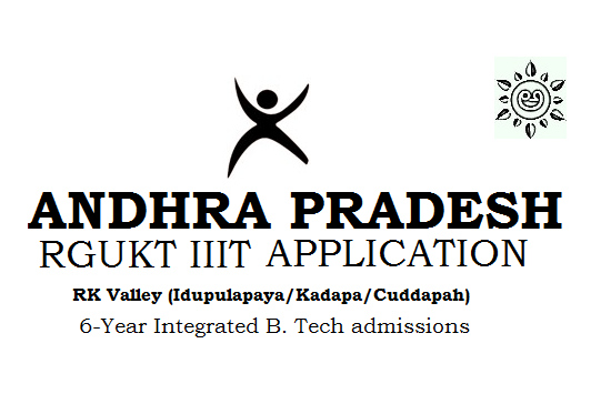 RGUKT IIIT Kadapa Online Application 2019