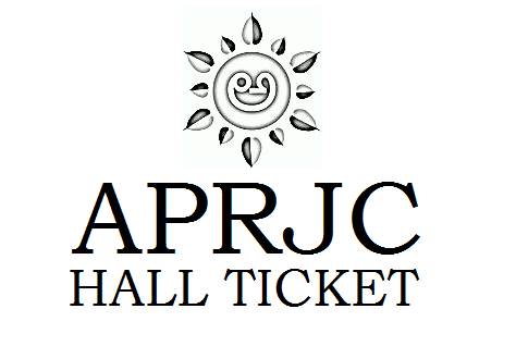 APRJC Hall Ticket 2019