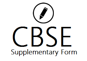 CBSE 12th Supple Form 2019