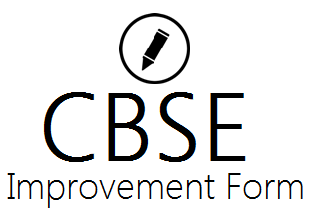 CBSE 12th Improvement Form 2021