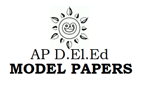 AP DELED 1st Year Model Papers 2021