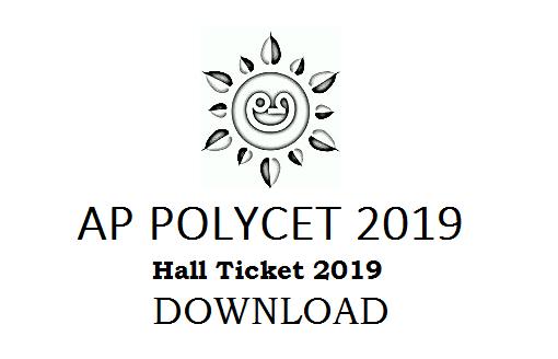 AP Polycet Hall Ticket 2019