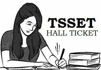 TSSET Hall Ticket 2019