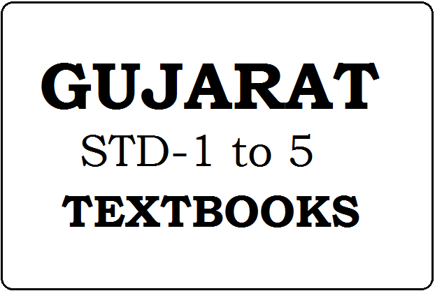 Gujarat STD-1, 2, 3, 4, 5 Books 2021