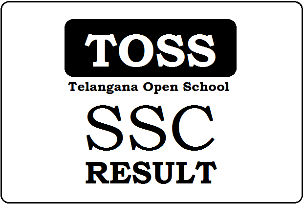 TOSS SSC Result 2019 Telangana Open 10th Result 2019 (April/May)