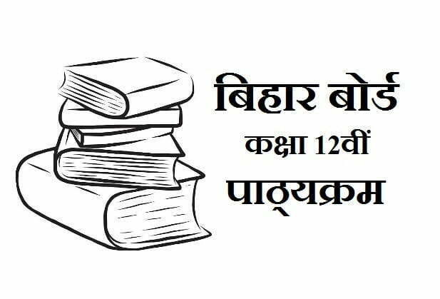 Bihar Board Intermediate Syllabus 2020