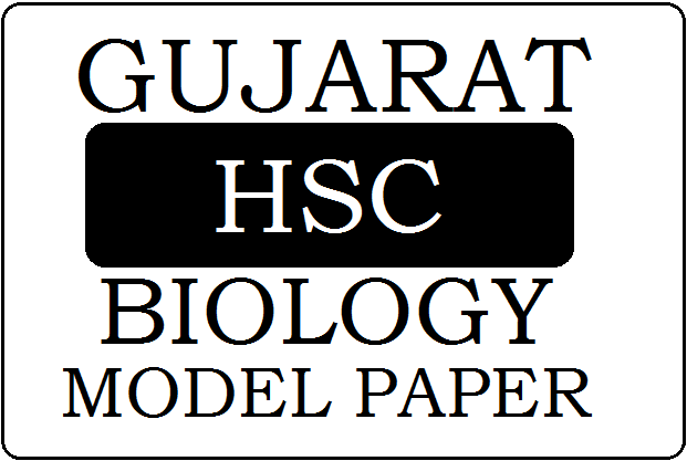GSEB STD-12 Biology Model Paper 2020 Pdf Download