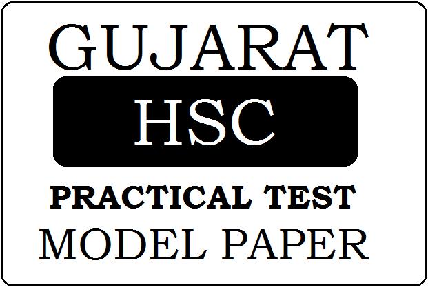GSEB HSC Practical Test Model Paper 2021