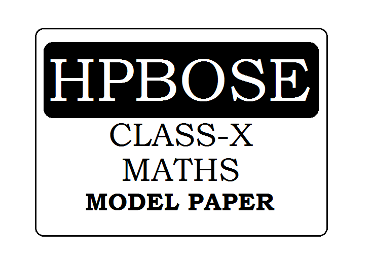 HPBOSE 10th Class Mathematics model paper 2021
