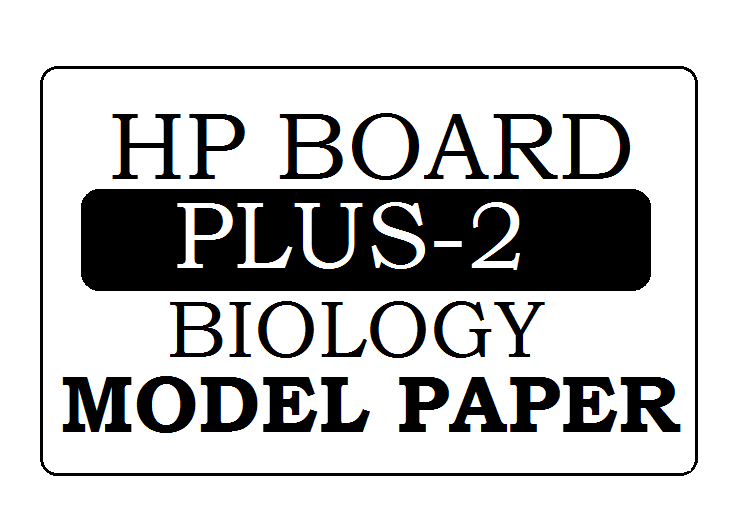 HP Board 12th Biology Model Paper 2020