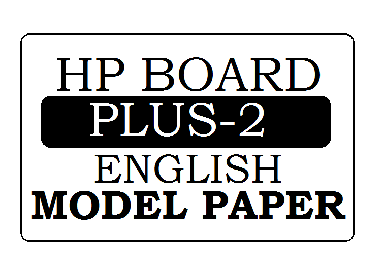 HP Board 12th English Model Paper 2020