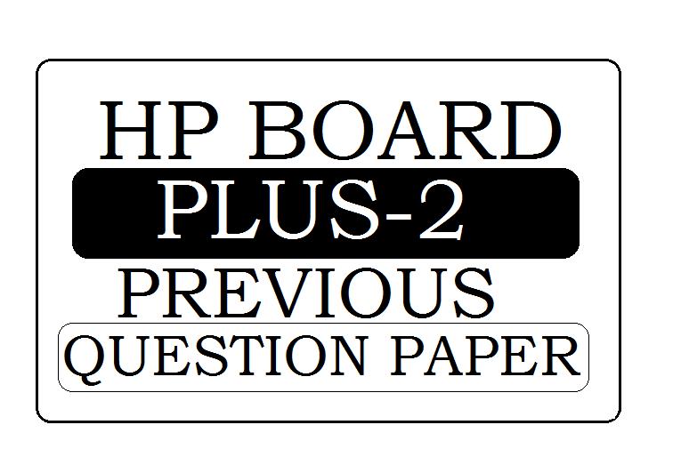 HP Board 12th Previous Paper 2021