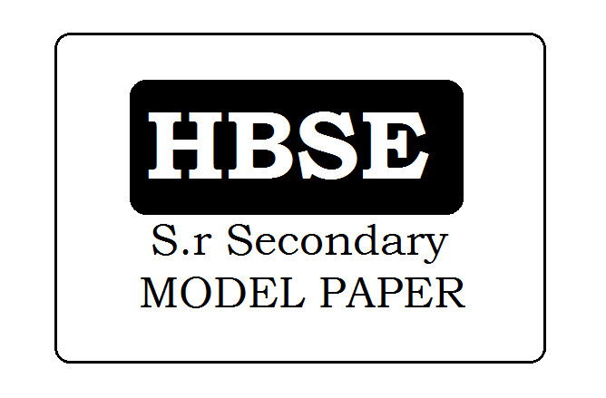 BSEH 12th Model Paper 2021