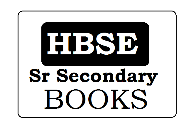 BSEH 12th Books 2020, HBSE Sr Secondary eBooks 2020 Download (*All Subject)