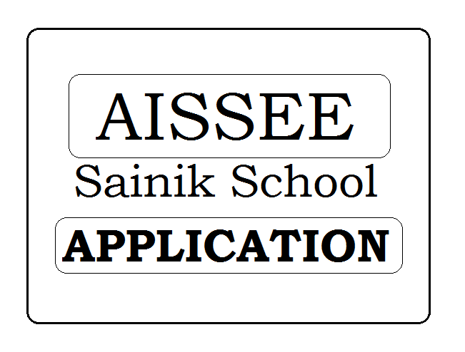 Sainik School Application Form 2020
