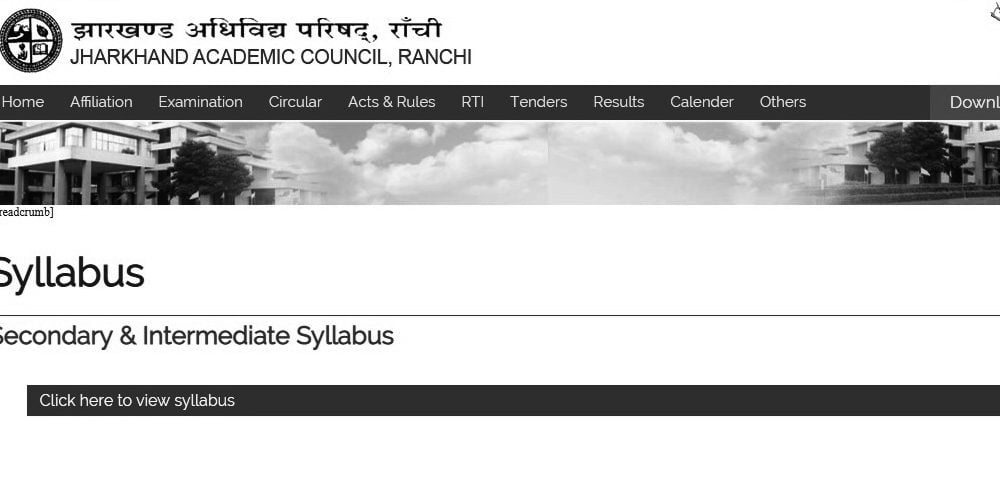 JAC 10th Syllabus 2020 Pdf Download (*All Subject)