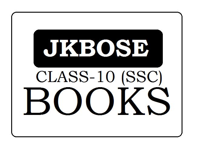 JKBOSE Class 10th Books 2021