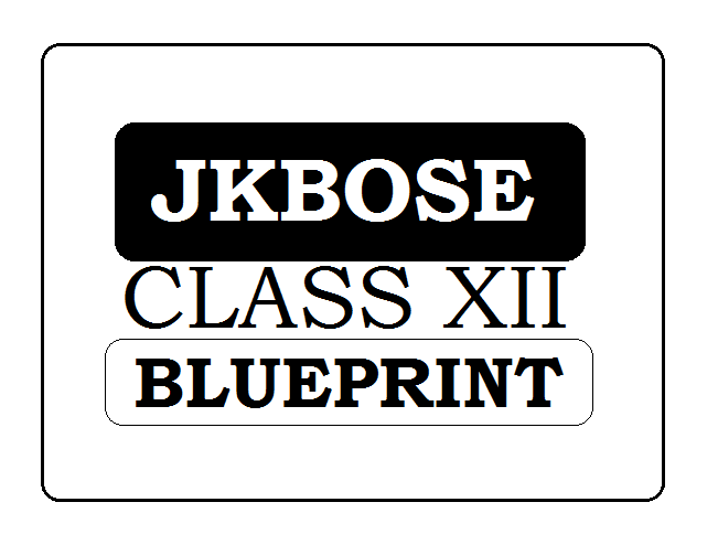 JKBOSE 12th Blueprint 2021