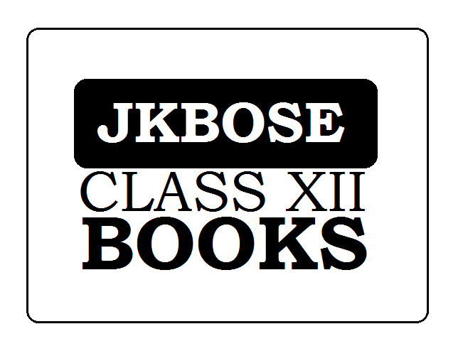 JKBOSE 12th Books 2020