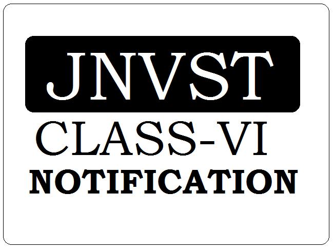 JNVST Class 6 Notification 2022