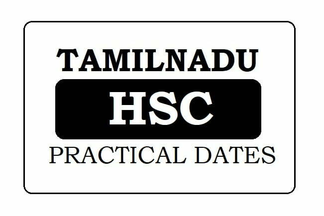 TNDGE Practical Test Dates 2021