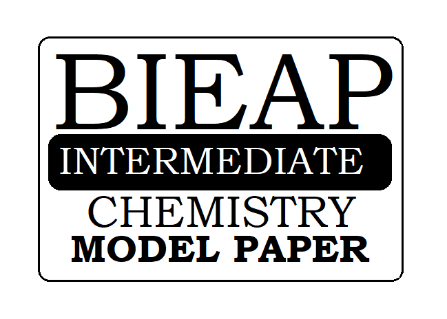 AP 1st & 2nd Inter Chemistry Model Paper 2021