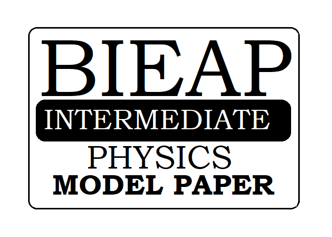 AP 1st & 2nd Inter Physics Model Paper 2021
