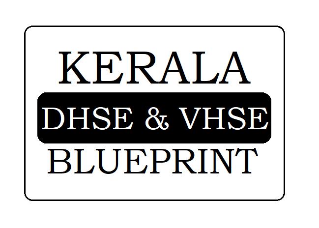 Kerala HSC Blueprint 2021
