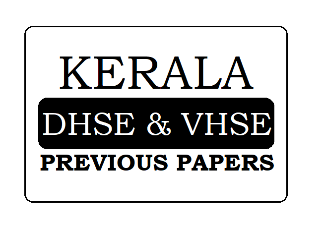 Kerala HSC Previous Paper 2020