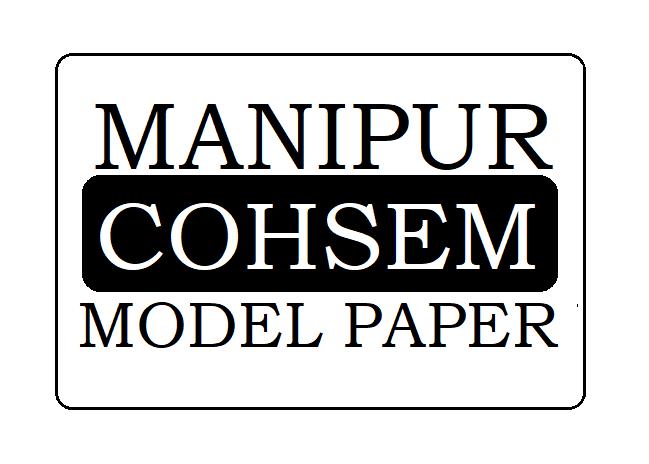 Manipur HSC Model Paper 2020