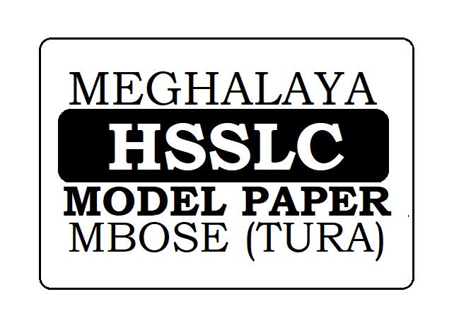 Meghalaya HSSLC Model Paper 2021