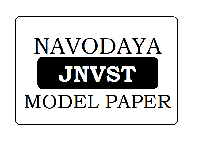 Navodaya 6th Model Paper 2020