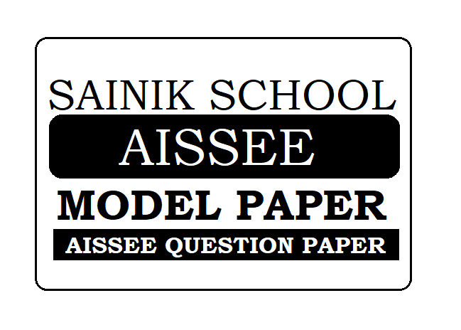 Sainik School Model Paper 2021