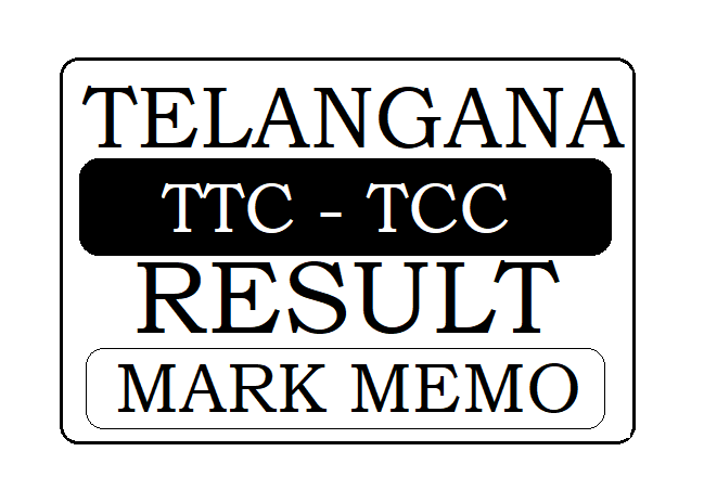 BSE Telangana TCC Result 2019