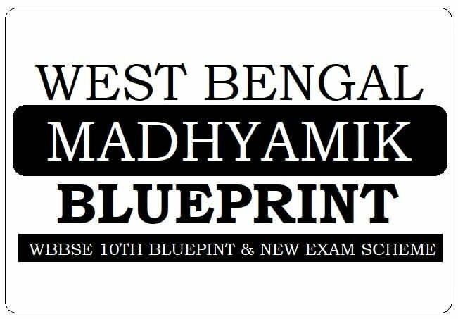 WB Madhyamik Blueprint 2021