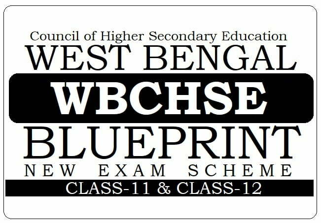 WBCHSE Blueprint 2021