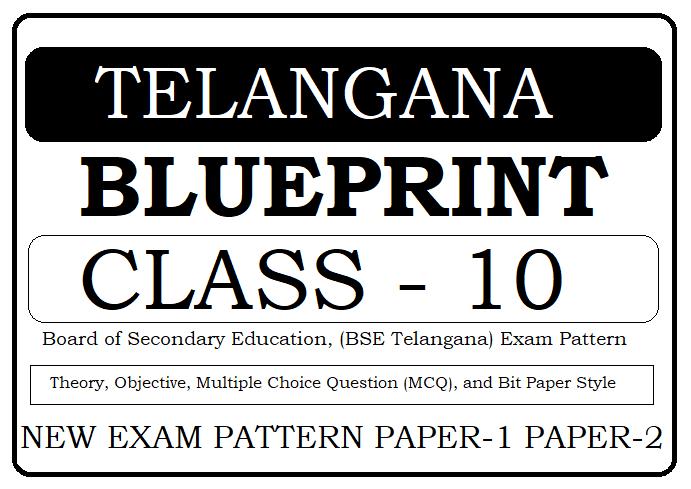 TS 10th Blueprint 2020 Telangana SSC Blueprint 2020