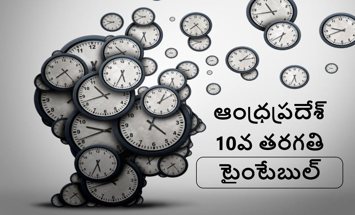 AP SSC Time Table 2021 (AP 10th Class Time Table 2021)