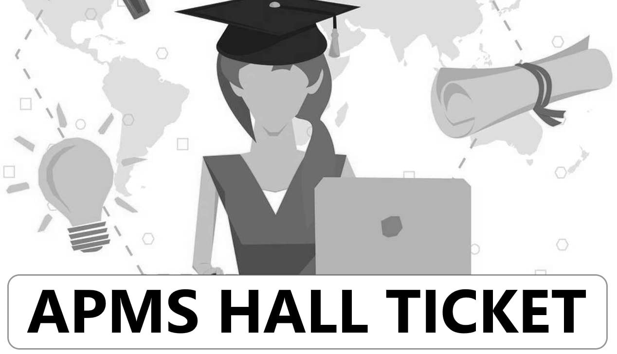 APMS Hall Ticket 2021 AP Model School 6th Class Hall Ticket 2021