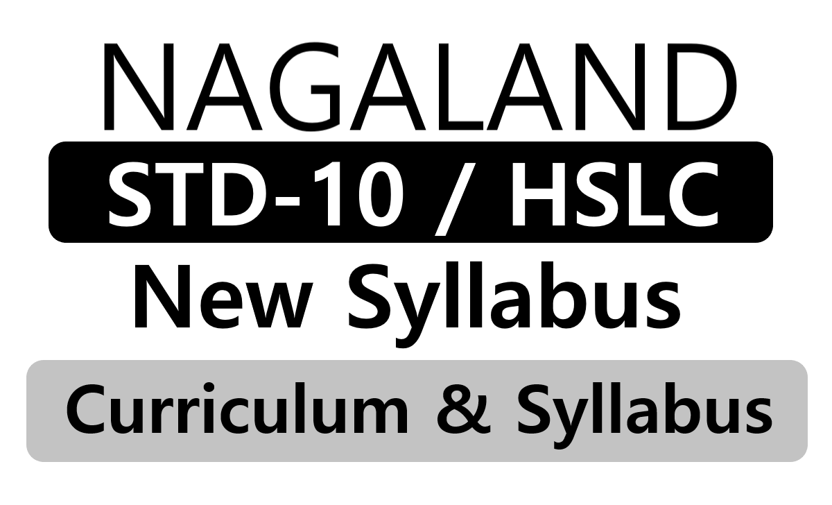 NBSE 10th Syllabus 2020