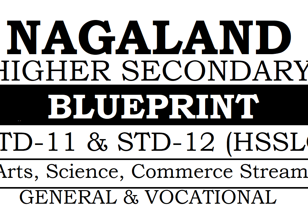 NBSE HSSLC Blueprint 2020 Nagaland 11th & 12th Blueprint 2020
