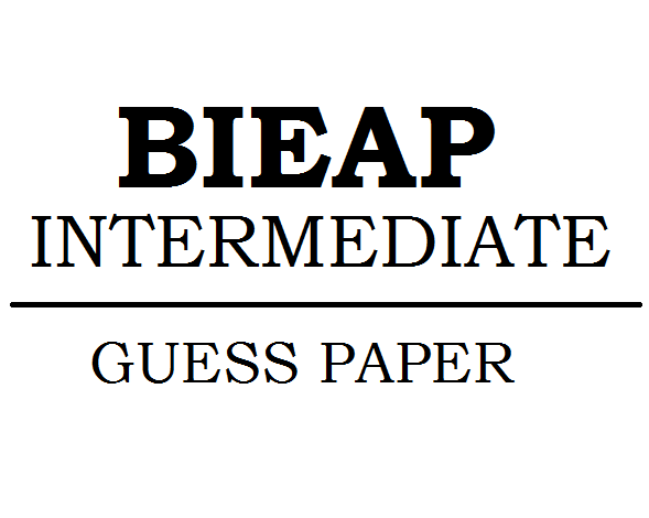 AP Inter Guess Paper 2021