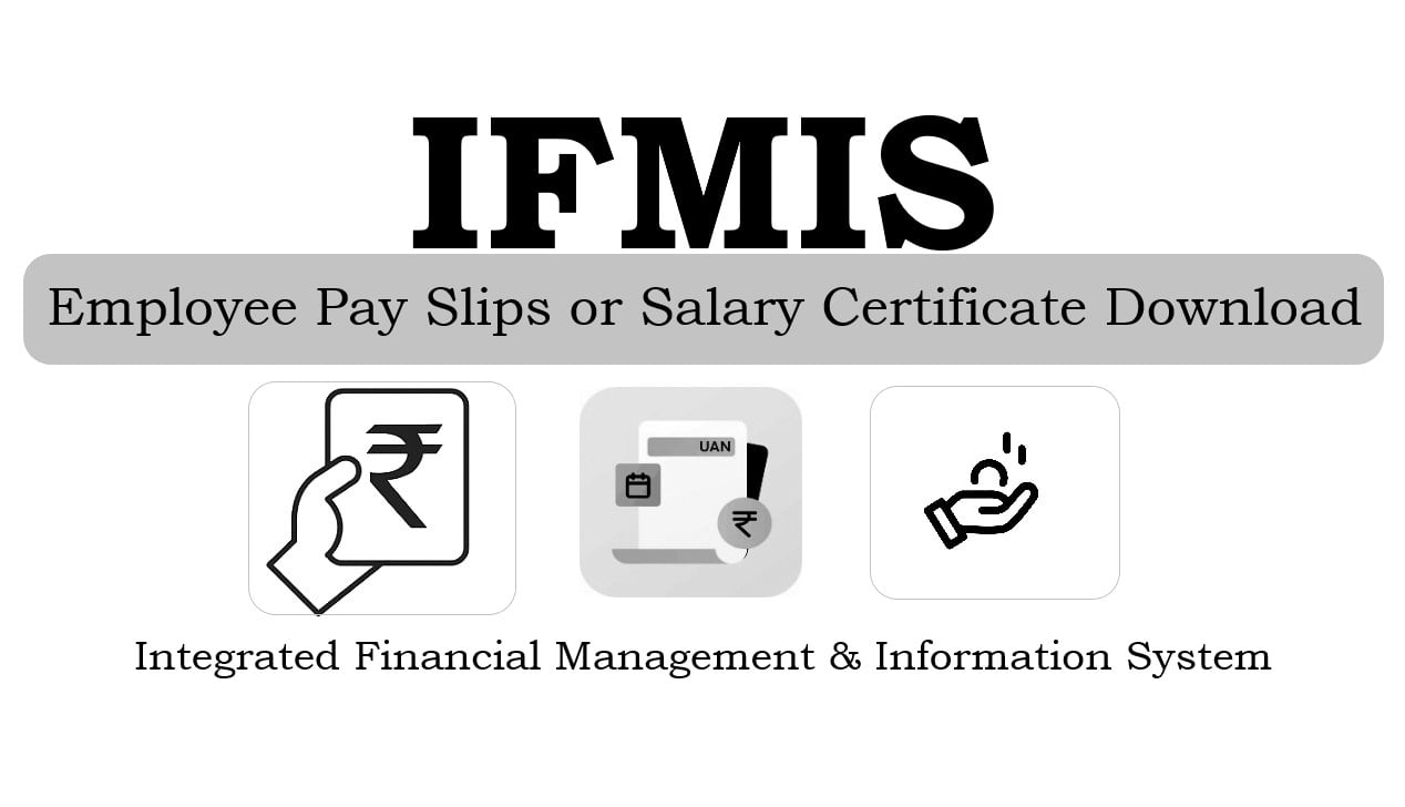IFMIS Telangana Employee Salary Pay Slips Download