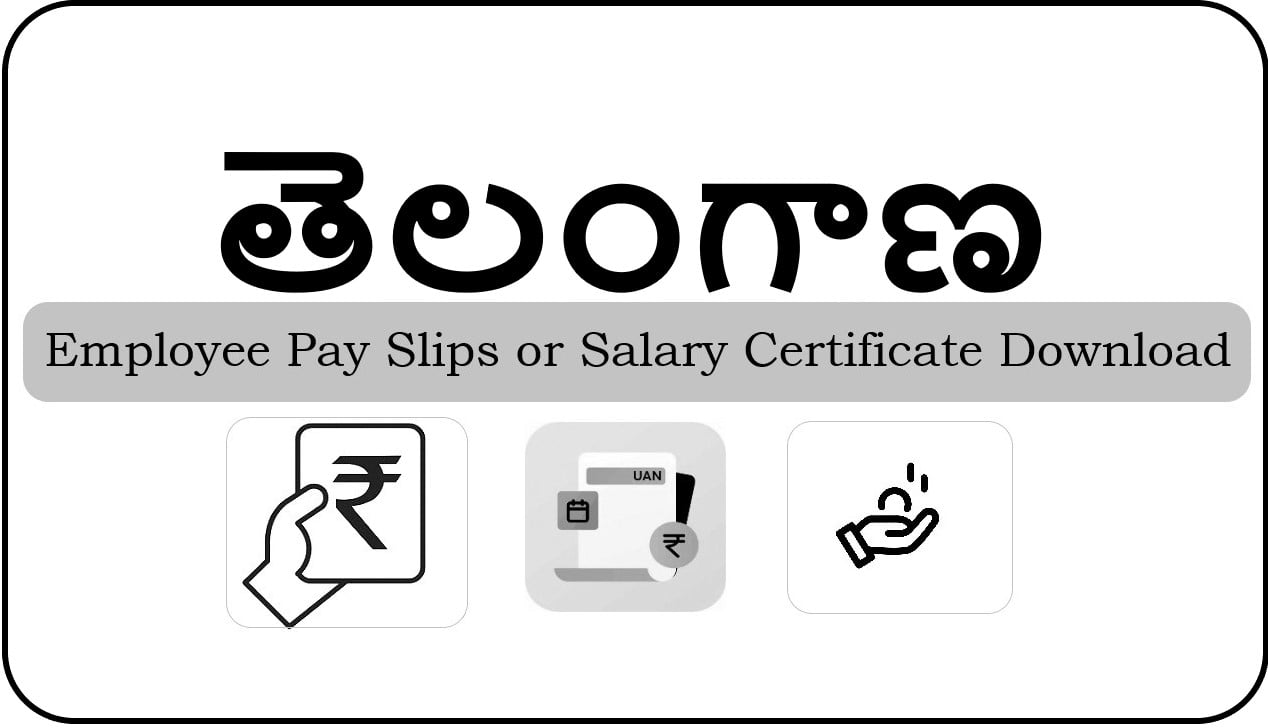 TS Employee Salary Slips Download (Old & New)