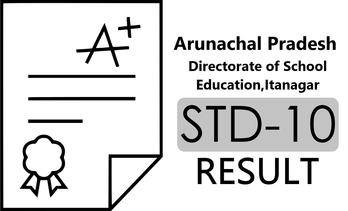 Arunachal Pradesh Board 10th Result 2021
