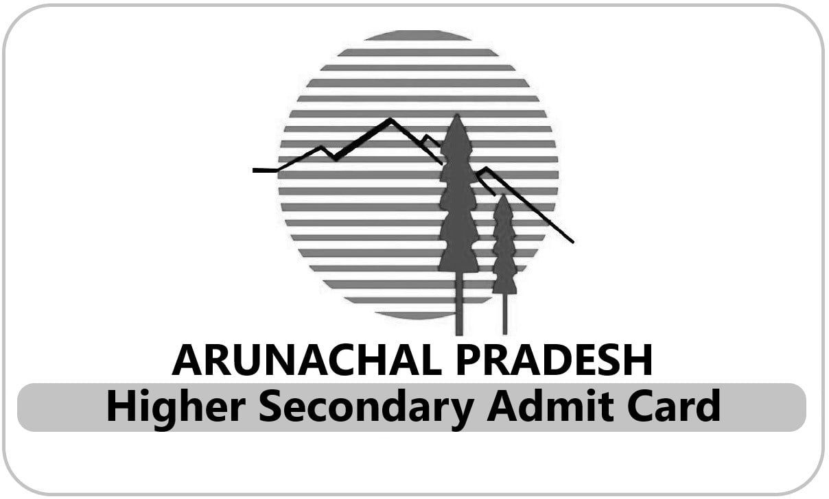 Arunachal Pradesh 12th Admit Card 2020