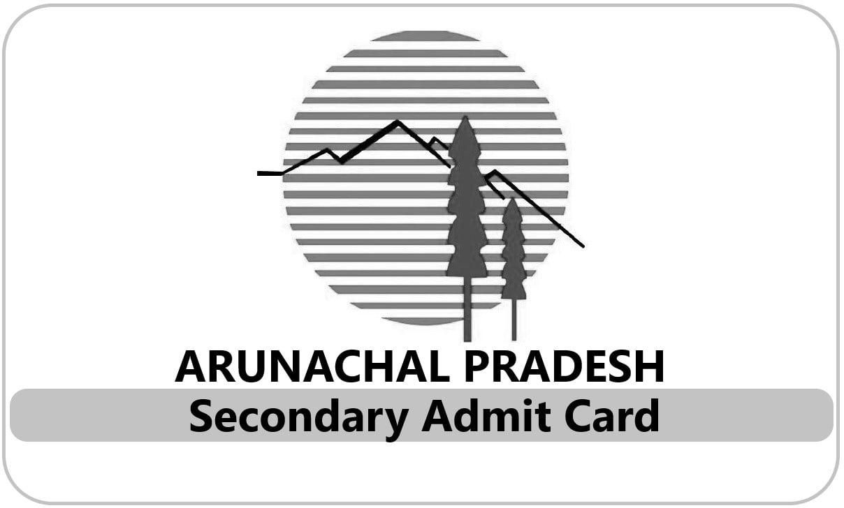 Arunachal Pradesh 10th Admit Card 2021