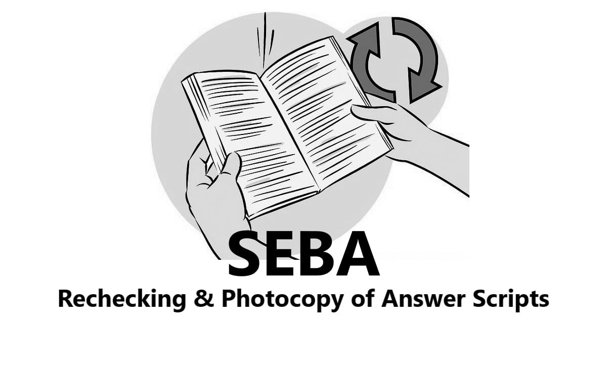 SEBA 10th / HSLC/AHM Result Rechecking Form 2020