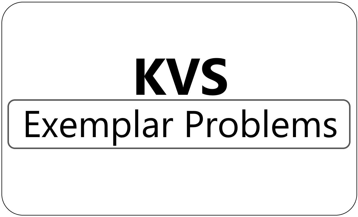 KVS Class 7 Exemplar 2021