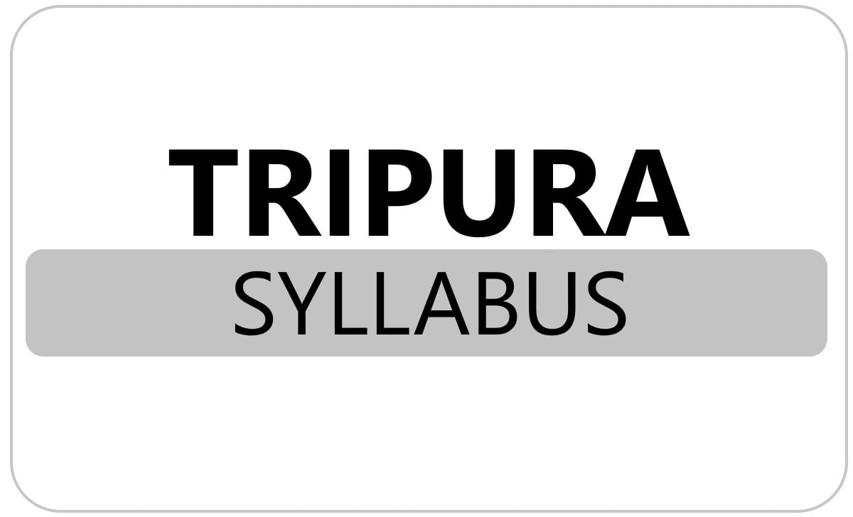 Tripura 6th, 7th, 8th Syllabus 2021